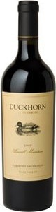 Duckhorn Howell Mountain Cabernet Sauvignon 2007, Napa Valley Bottle