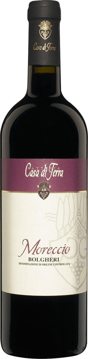 Casa di terra moreccio bolgheri 2009 expert wine ratings for Case di terra