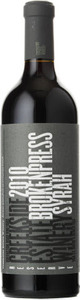 Creekside Broken Press Syrah 2010, VQA St. David's Bench, Niagara Peninsula Bottle
