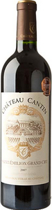 Château De Cantin 2010, Saint Emilion Grand Cru Bottle