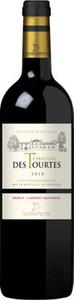 Château Des Tourtes 2010, Premières Côtes De Blaye Bottle
