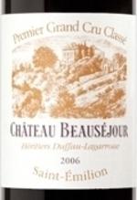 Château Beauséjour Duffau Lagarrosse 2000, Ac St Emilion Premier Grand Cru Classé  Bottle