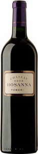 Chateau Hosanna 2005, Pomerol Bottle