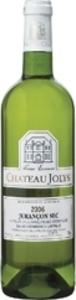 Château Jolys 2012, Ac Jurançon Sec Bottle