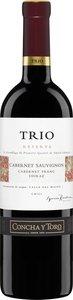 Trio Reserva Cabernet Sauvignon / Shiraz / Cabernet Franc 2008 Bottle