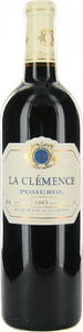 Château La Clémence 2009, Pomerol Bottle