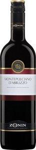 Zonin Montepulciano D'abruzzo Bottle