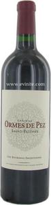 Château Les Ormes De Pez 2000, Saint Estèphe Bottle