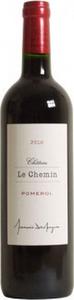 Château Le Chemin 2010, Pomerol Bottle
