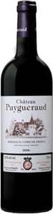 Château Puygueraud 2010, Ac Côtes De Francs Bottle