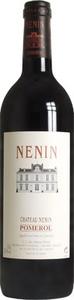 Château Nénin 2006, Ac Pomerol Bottle