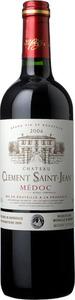 Château Clément Saint Jean 2010, Ac Médoc Bottle