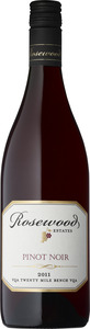 Rosewood Pinot Noir 2011, VQA Twenty Mile Bench Bottle