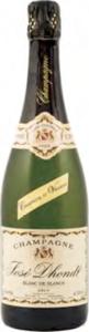 José Dhondt Blanc De Blancs Brut Champagne Bottle