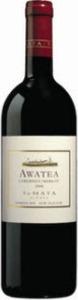 Te Mata Awatea Cabernets/Merlot 2008, Hawkes Bay Bottle