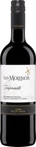 Los Molinos Tempranillo 2013 Bottle