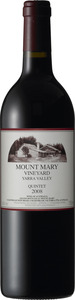 Mount Mary Quintet 2009, Yarra Valley Bottle