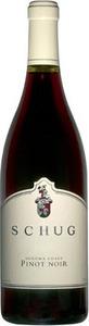 Schug Pinot Noir Sonoma Coast 2012, Sonoma Coast Bottle