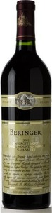 Beringer Bancroft Ranch Single Vineyard Merlot 2004, Howell Mountain, Napa Valley Bottle