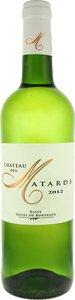 Château Des Matards 2012, Blaye Ctes De Bordeaux Bottle