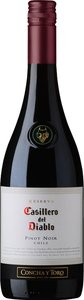 Casillero Del Diablo Pinot Noir 2012 Bottle