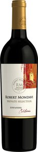 Robert Mondavi Private Selection Zinfandel 2011 Bottle