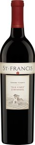 St Francis Old Vines Zinfandel 2010 Bottle