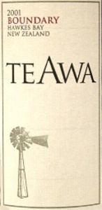 Te Awa Boundary 2004 Bottle