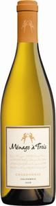 Ménage À Trois Chardonnay 2010, California Bottle