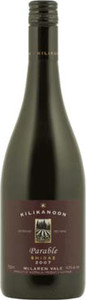 Kilikanoon Parable Shiraz 2010, Mclaren Vale Bottle