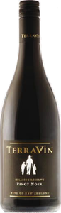 Terravin Wines Hillside Reserve Pinot Noir 2008, Marlborough Bottle
