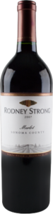 Rodney Strong Sonoma County Merlot 2010, Sonoma County Bottle