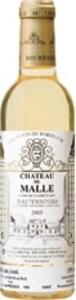 Château De Malle 2009, Ac Sauternes, 2e Cru (375ml) Bottle