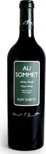 Au Sommet Cabernet Sauvignon 2010, Atlas Peak, Napa Valley Bottle