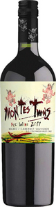 Montes Twins Malbec Cabernet Sauvignon 2011, Colchagua Valley Bottle