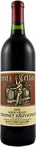 Heitz Martha's Vineyard Cabernet Sauvignon 2004, Napa Valley Bottle