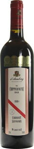 D'arenberg The Coppermine Road Cabernet Sauvignon 2004, Mclaren Vale, South Australia Bottle