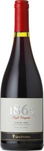 San Pedro 1865 Single Vineyard Syrah 2010, Cachapoal Valley Bottle