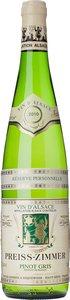 Preiss Zimmer Réserve Personnelle Pinot Gris 2012 Bottle