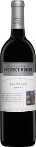 Ganton & Larson Prospect Winery Red Willow Shiraz 2009, BC VQA Okanagan Valley Bottle