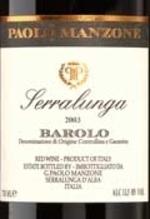 Paolo Manzone Serralunga Barolo 2007, Docg Bottle