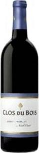 Clos Du Bois Merlot 2010, Sonoma County Bottle