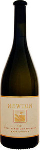 Newton Unfiltered Chardonnay 2009, Napa County Bottle