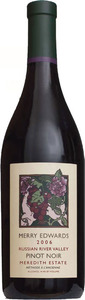 Merry Edwards Meredith Estate Pinot Noir 2006, Russian River Valley, Sonoma County Bottle