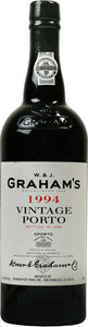 Graham's Vintage Port 1994 Bottle