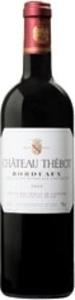 Château Thébot 2009, Ac Bordeaux Bottle
