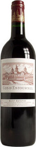 Chateau Cos D'estournel 2001, St Estèphe Bottle