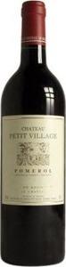 Château Petit Village 1995, Ac Pomerol Bottle