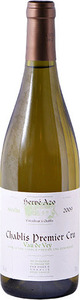 Hervé Azo Vau De Vey Chablis 1er Cru 2011 Bottle