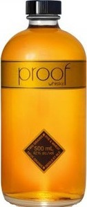 Proof Whisky (500ml) Bottle